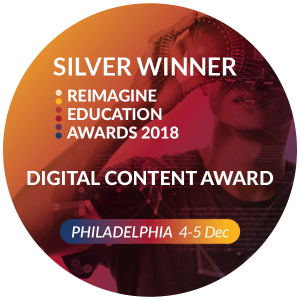 Reimagine Education Award - Silver Winner, Digital Content